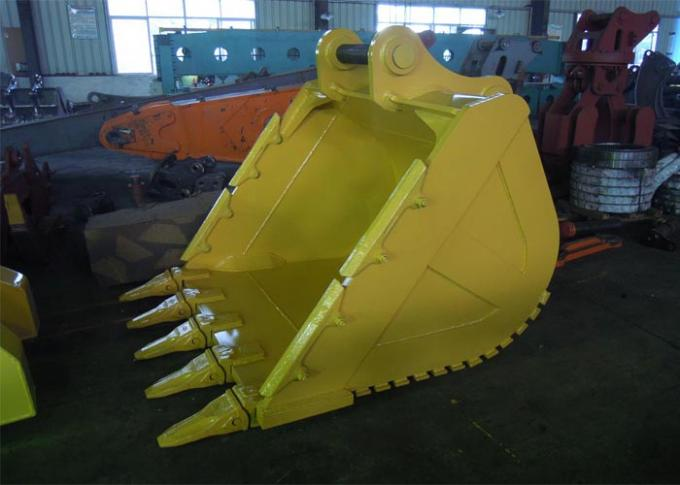 Hardox450 Komatsu Excavator Rock Bucket for Mining Condition