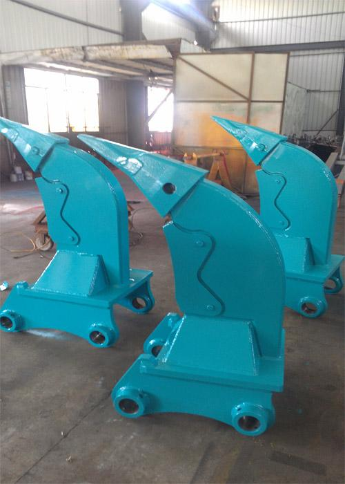 D9 Excavator Kobelco SK260 Multi Ripper Bucket 100mm Thickness