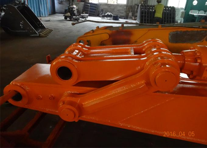 Doosan DX 480 Excavator Long Reach Arm 14.34 Meter Heavy Duty For Dredging Port