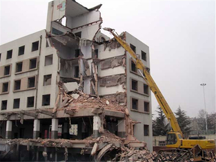 High Rise Long Reach Demolition Boom for Komatsu PC400 Excavator