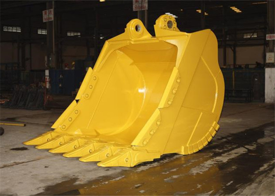 Chiny Hardox450 Komatsu Excavator Rock Bucket for Mining Condition dostawca
