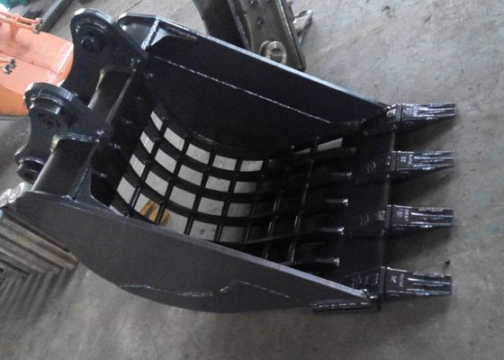 Chiny 0.5 Cum Komatsu Excavator Skeleton Bucket With Heavy Duty Interlocking Ribs dostawca