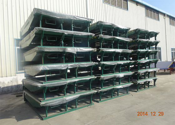 Chiny Custom Riffled Plate Hydraulic Dock Leveler Manufacturing Save Time dostawca