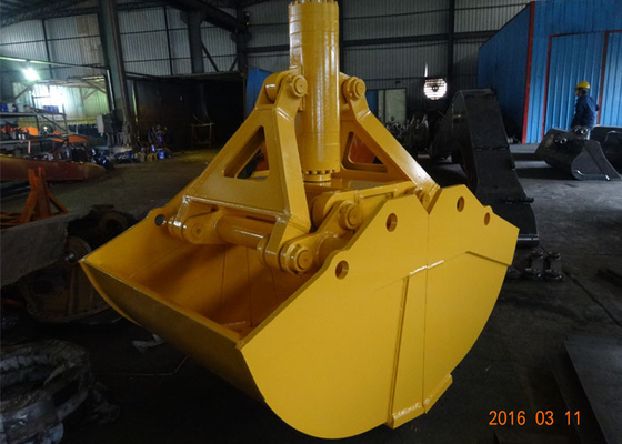 Chiny One Cylinder Clamshell Bucket , Komatsu PC360 Telescopic Boom Grapple Bucket dostawca