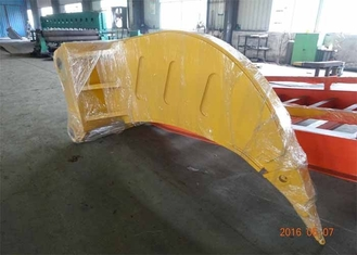 Chiny Komatsu PC1250 Excavator Rake Bucket With 100 mm Thickness / D11 Ripper Tooth dostawca