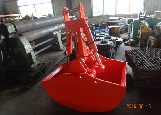 Chiny Non Rotate Clamshell Excavator Grapple Bucket For Daewoo DH280 Long Reach Excavator dostawca