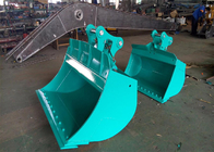 Chiny Heavy Duty 20ton Excavator Tilting Ditching Bucket with Bolted Cutting Edge fabryka