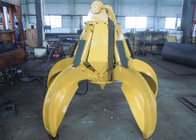 Chiny No Rotate Hydraulic Orange Peel Grab Bucket for CAT320 Excavator fabryka