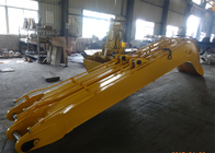 Chiny Yellow Excavator Long Reach Boom for Komatsu PC240 Total 18 Meters Length fabryka