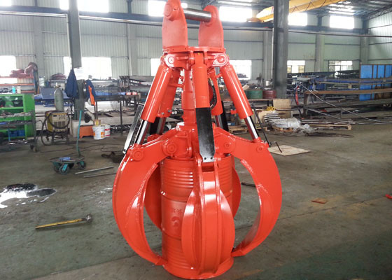 Chiny Personalized Hydraulic Orange Peel Grapple for Doosan DX260 Excavator dystrybutor