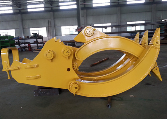 Chiny CE Approved Mechanical Excavator Log Grapple for Komatsu PC120 Excavator dystrybutor