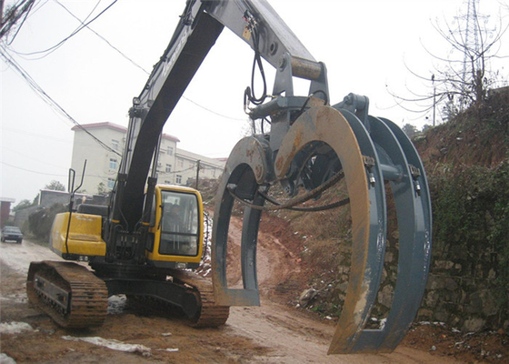 Chiny Long Durability Logging Grapple Excavator Log Grab Electric Hydraulic Grab dystrybutor