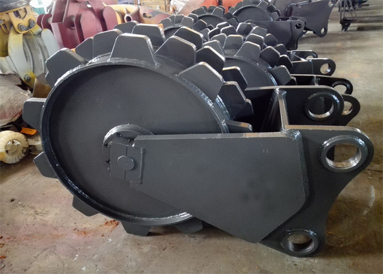 Chiny 900mm Diameter Excavator Compaction Wheel For Excavator Machine dystrybutor