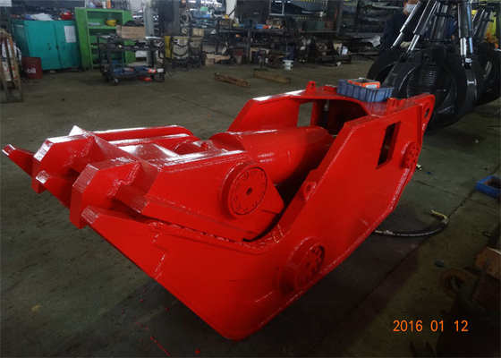 Chiny HARDOX450 Hydraulic Demolition Shears for 20 Ton - 30 Ton Excavator dystrybutor