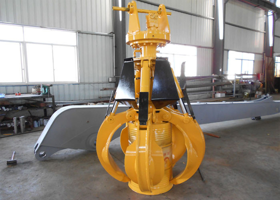 Chiny Light Weight Komatsu Orange Peel Grab / Excavator Rotating Grapple dystrybutor
