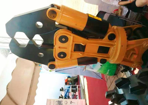 Chiny Excavator Crusher Hydraulic Demolition Shears Excavator Pulveriser dystrybutor