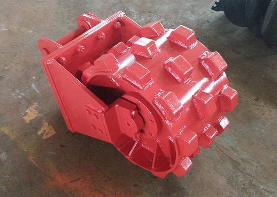 Chiny Replaceable Pick Up Joint Compaction / Compactor Wheel For Excavator Step Design dystrybutor